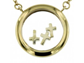 Symbol Chain Happy Crosses
