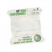 Rijggaren wit nylon High Performance