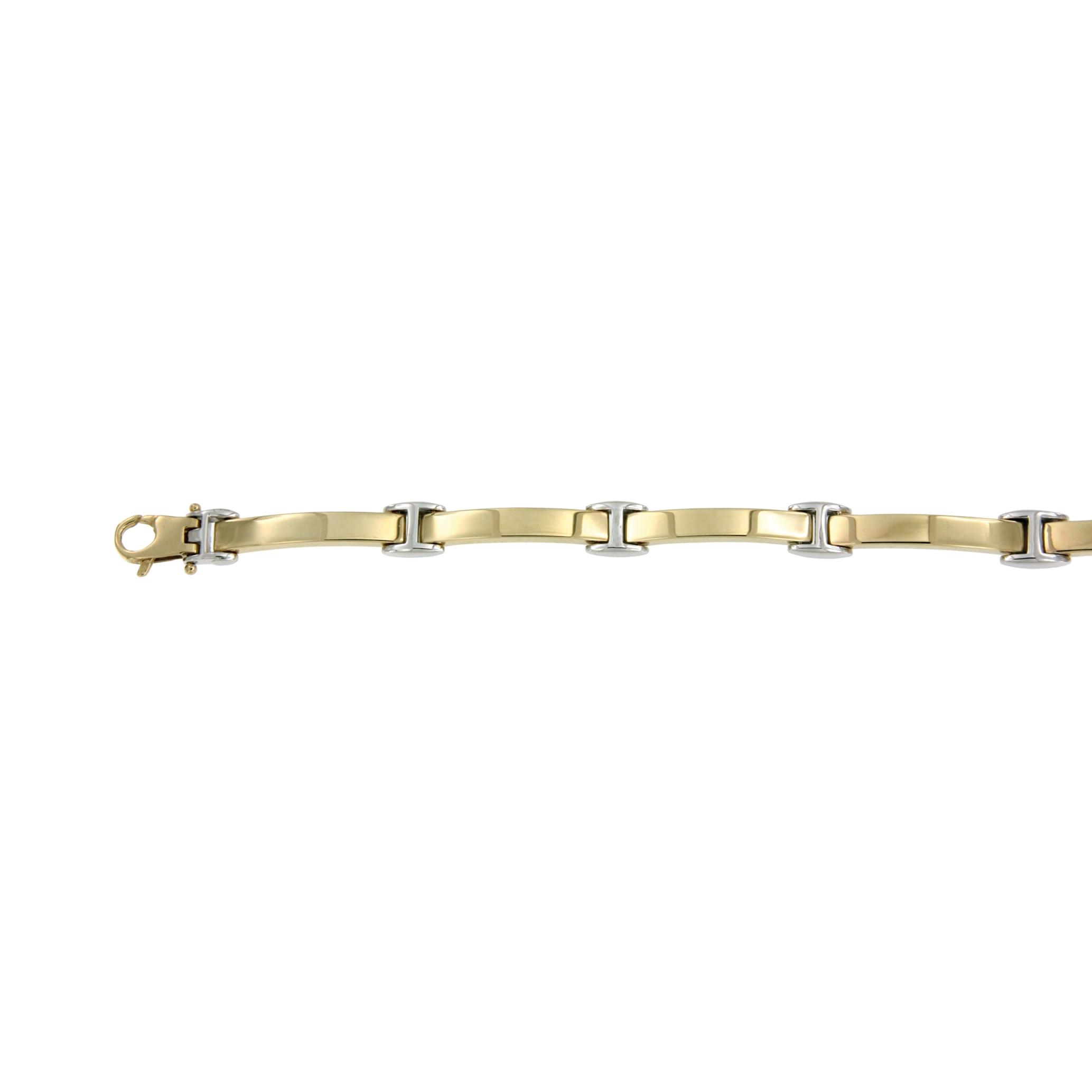 Armbanden Bicolorgoud
