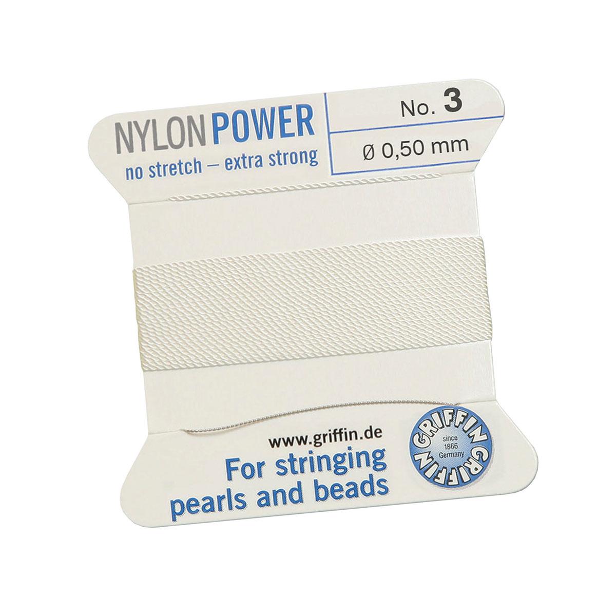 rijggaren-nylon-wit